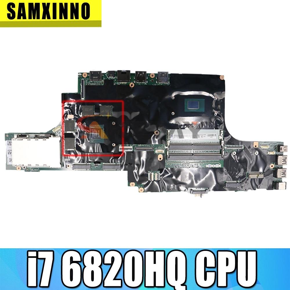 لينوفو ثينك باد P50 دفتر اللوحة وحدة المعالجة المركزية i7 6820HQ 100% اختبار العمل FRU 01AY362 00UR728 01AY372 01AY374 01AY375