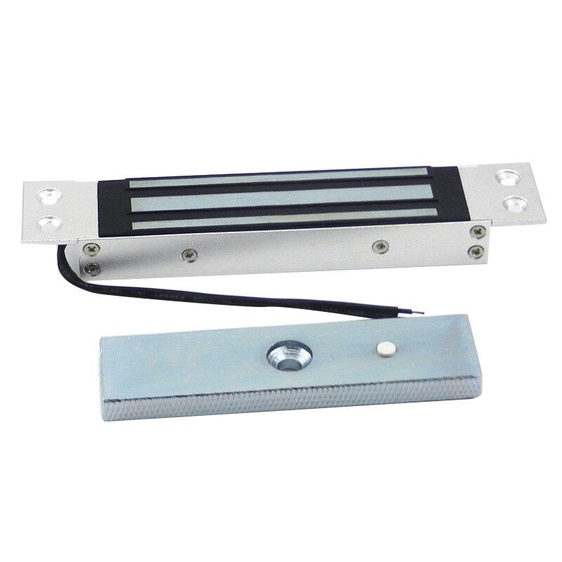 Novo-montagem nivelada 180 kg 12 v embutido fechadura eletromagnética elétrica escondida para o acesso da porta
