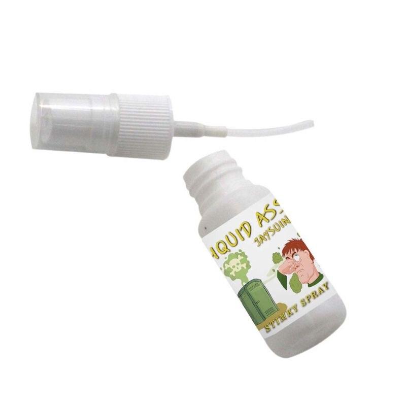 30ml Super Stinky líquido Fart Terrible olor Spray de larga duración olor broma juguete F42E
