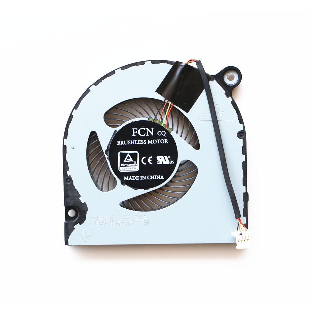Охлаждающий вентилятор для ноутбука Acer Aspire A314-31 A315-21 A315-31 A315-51 A315-52 A515-51 Вентилятор охлаждения процессора DFS541105FC0T FJMQ