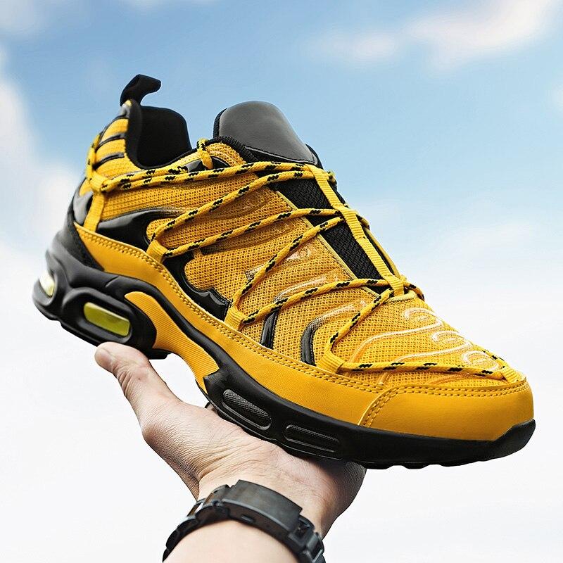 Большой размер 39-46 Для Мужчин's повседневная обувь 2021 брендовые дизайнерские Для мужчин спортивной обуви светильник кружевное; На шнуровке; ...