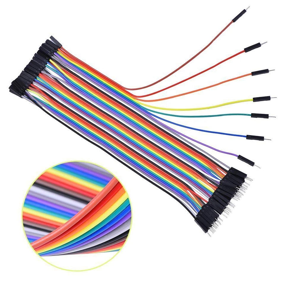 Jumper Wire Diy Line Dupont Male to Male/Female to Male/Female to Female Jumper Wire Connector Dupont Cable Wire for arduino