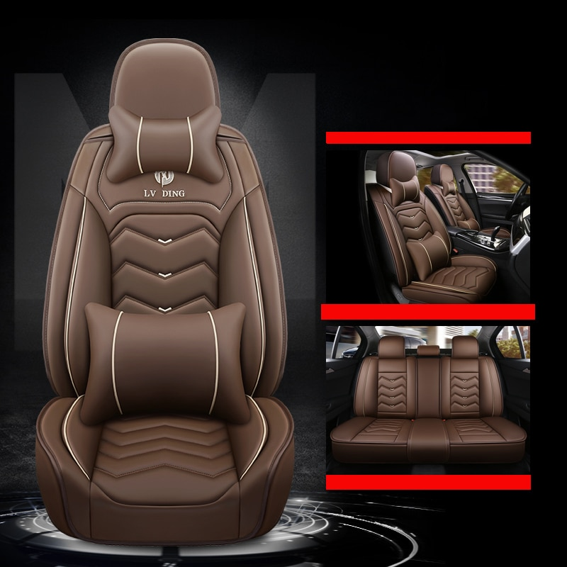Cubierta de asiento de coche, accesorios para chrysler 300c pt cruiser phev