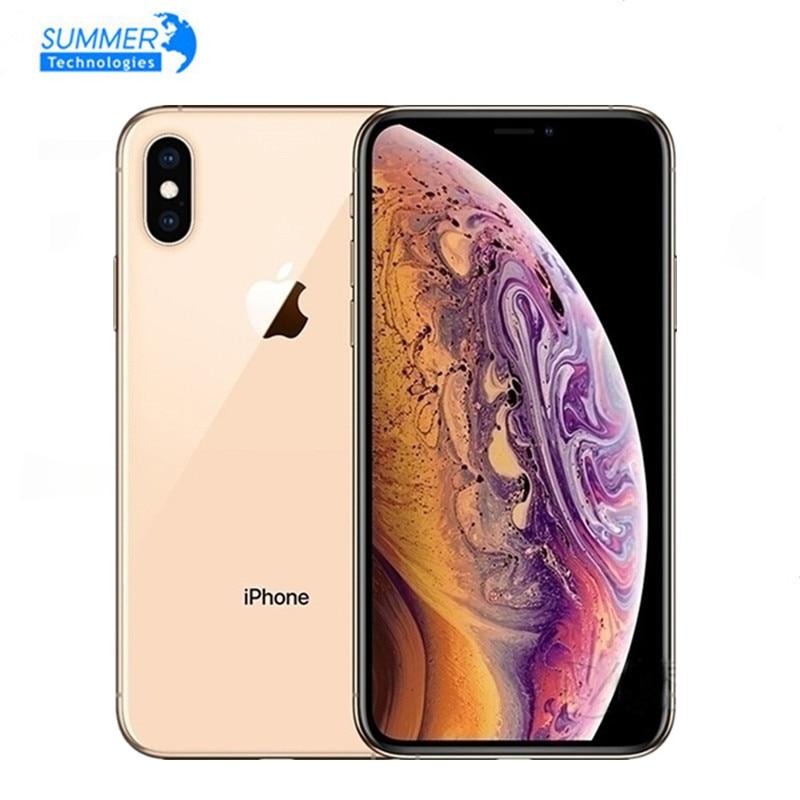 Разблокированный Apple Оригинальный iPhone XS Face ID NFC Смартфон с шестиядерным процессором Apple Pay 5,8 дюйма