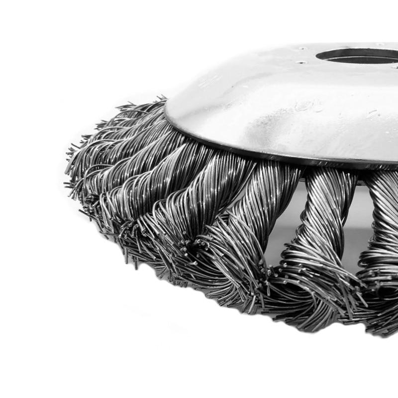 6-tolline murutrimmeri pea, terastraadist trimmeripea, võsalõikuri - Aiatööriistad - Foto 4