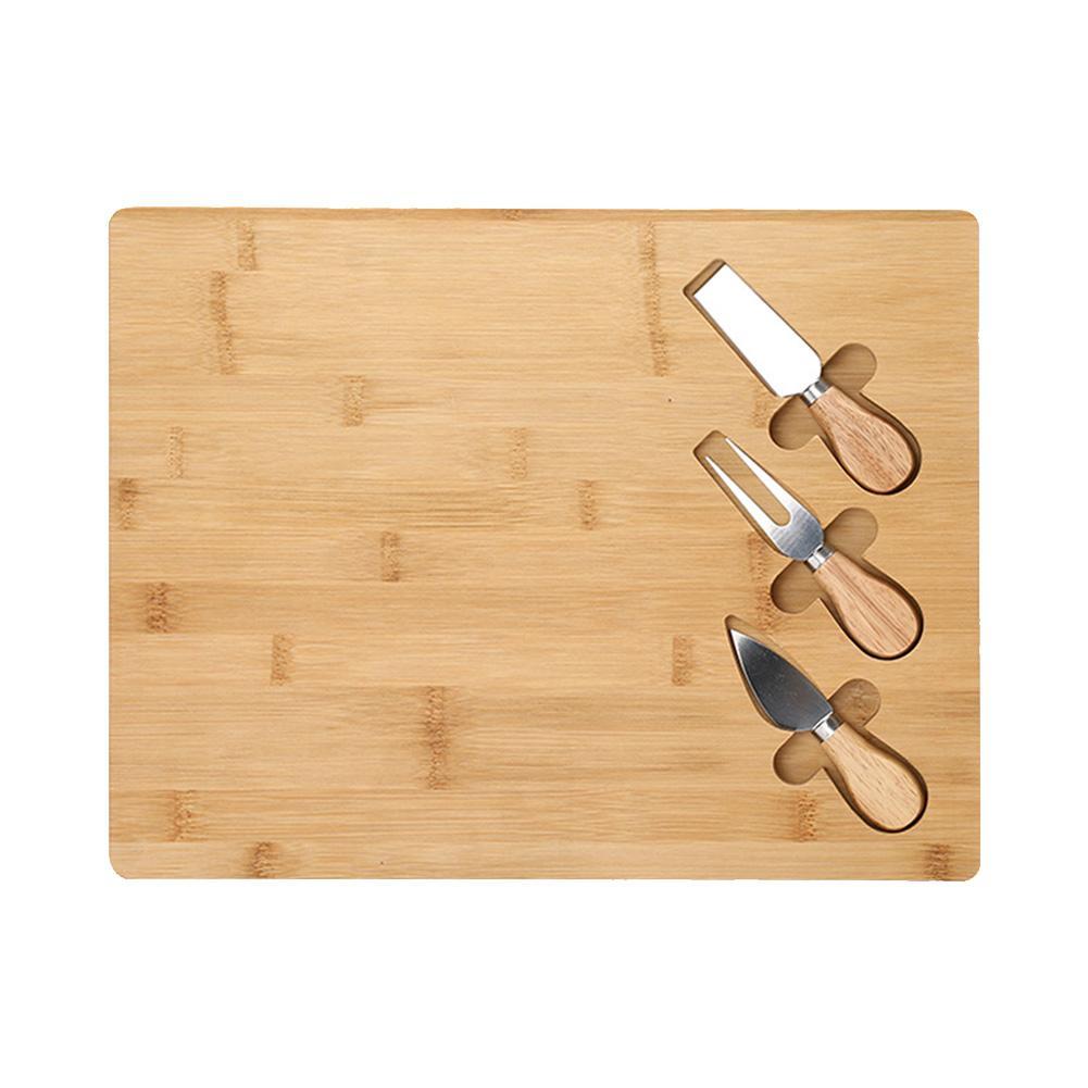 Tabla de cortar de bambú Nan tabla de cortar de bambú tabla de cortar duradera resistente saludable tabla de queso Desayuno Gourmet tabla para frutas