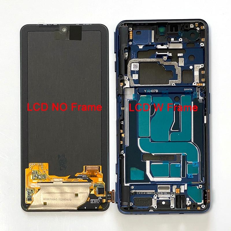 6.67 الأصلي ل شاومي الأسود القرش 4 القرش PRS-H0/A0 LCD شاشة عرض + شاشة تعمل باللمس محول الأرقام الإطار ل BlackShark 4 برو 4Pro