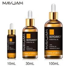 10ml 30ml 100ml Bergamot Essential Oil 100% Natural Citrus Essential Oils Office Relief Anxiety Diff