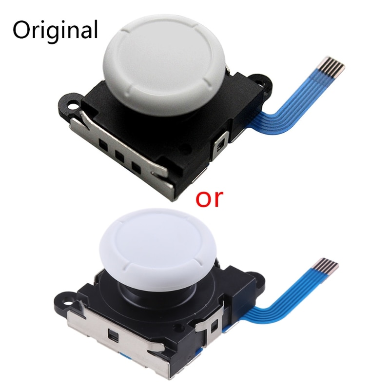 1Pc 3D Analog Sensor Stick Joystick Replacement for Nintend Switch Controller Handle Gaming Accessor