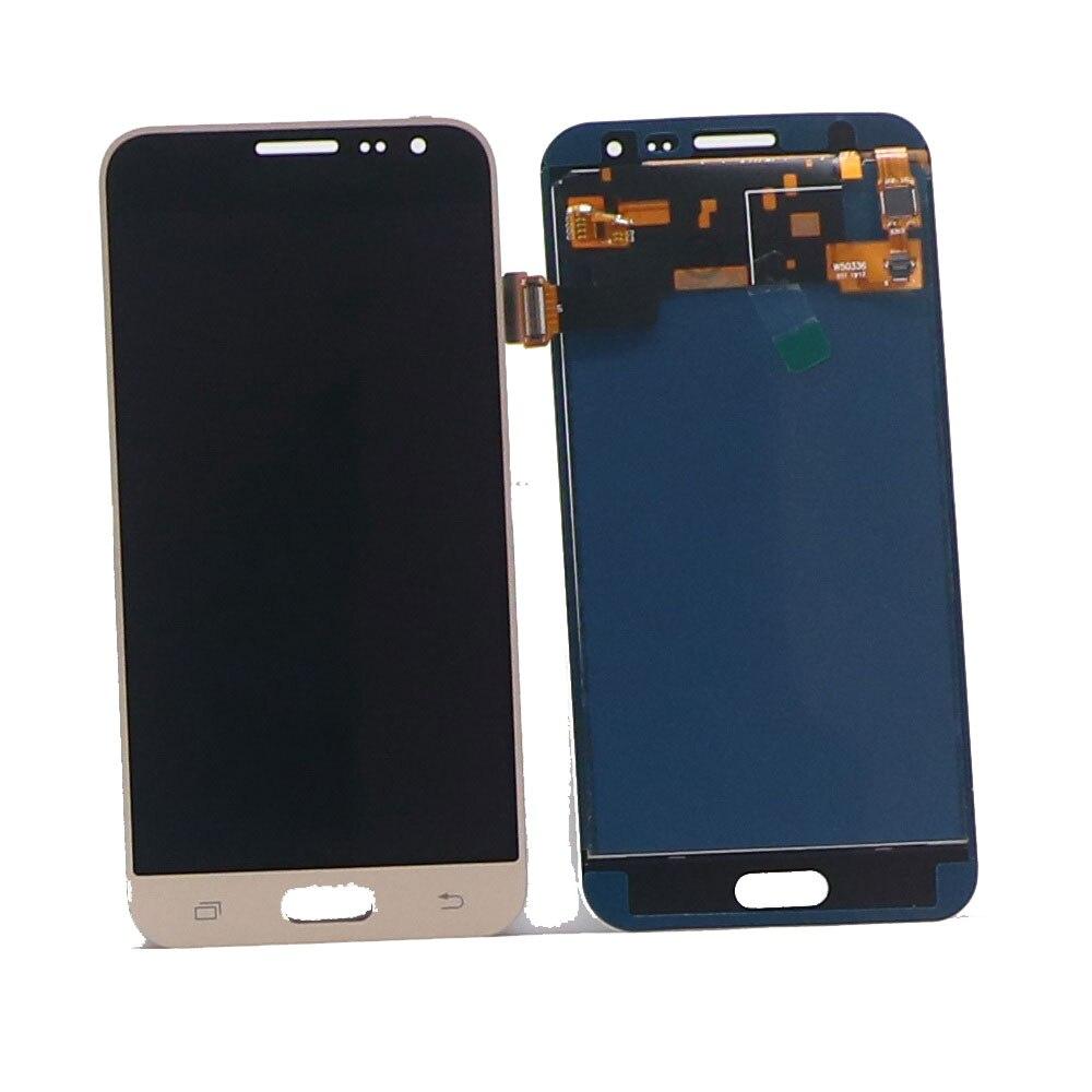 100% probado para Samsung Galaxy J3 DE 2016 J320 J320F J320H teléfono pantalla LCD MONTAJE DE digitalizador con pantalla táctil con control de brillo