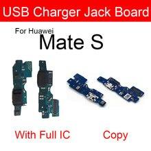 Carte Jack USB pour Huawei Mate S CRR-L09 CRR-UL00, Module de Port de charge, connecteur Usb, remplacement, réparation
