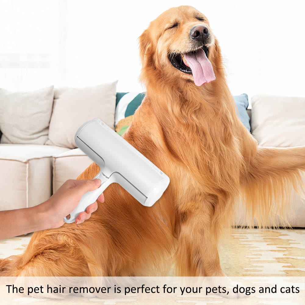 2020 Pet Hair Cleaning Brush Fur Removing Roller Lint Brush Dog Cat Brush Animals Hair Remover Clothing Couch Sofa Carpets Comb enlarge