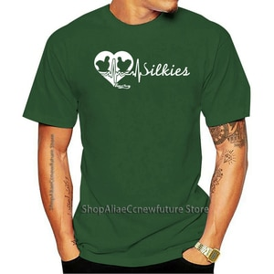 Camiseta Camisa Masculina T De Seda De frango-batimento cardíaco Feminino 2021 Leisure Fashion T-shirt 100% Cotton