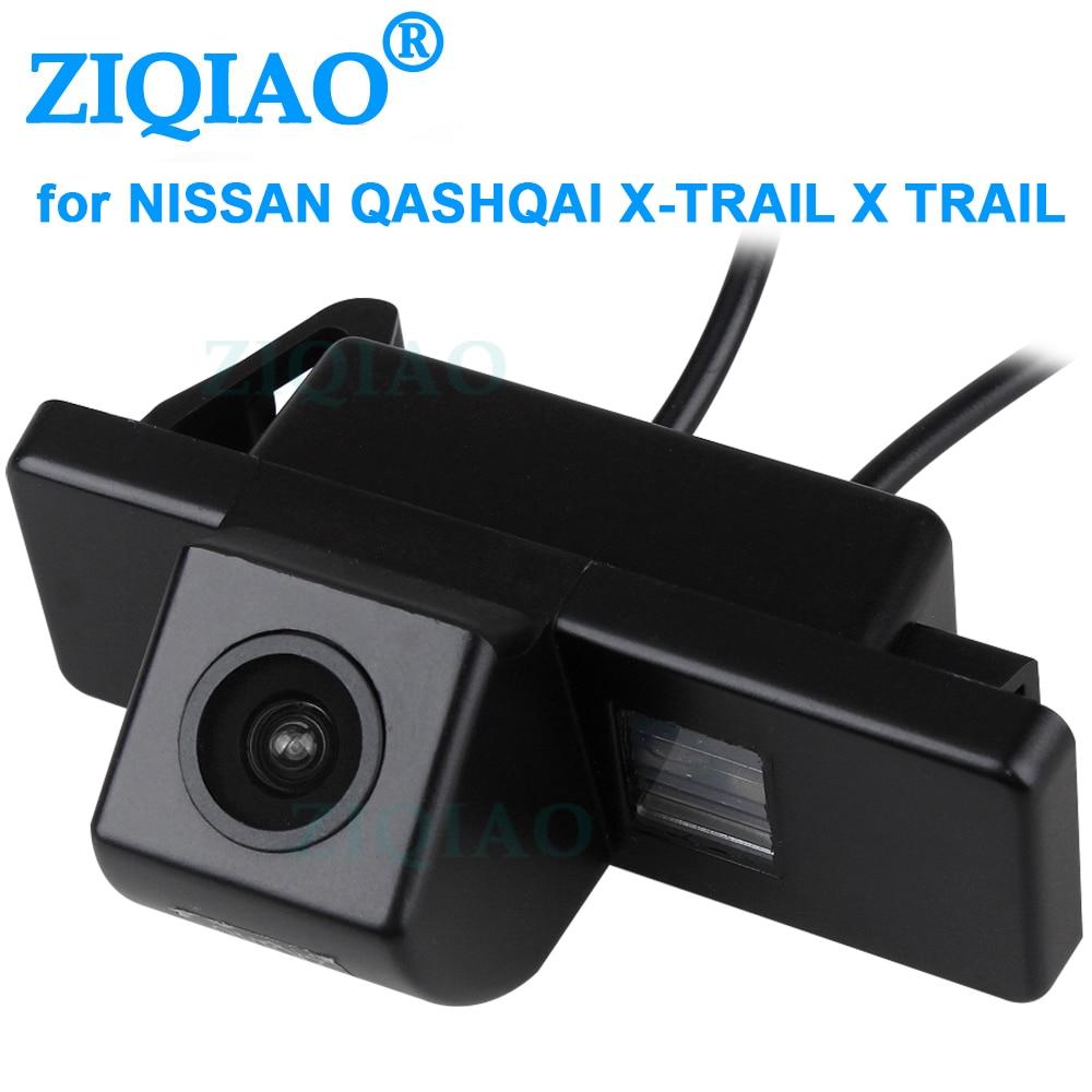 ZIQIAO para Nissan Juke QashqaI X-TRAIL Geniss Pathfinder Citroen C4 C5 c-triomphe Peugeot 307cc cámara de visión trasera de aparcamiento HS024