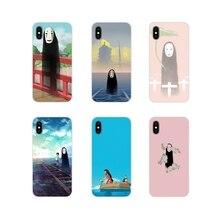 Soft Shell Case Cartoon Studio Ghibli Spirited Away No face For Xiaomi Redmi Note 3 4 5 6 7 8 Pro Mi Max Mix 2 3 2S Pocophone F1