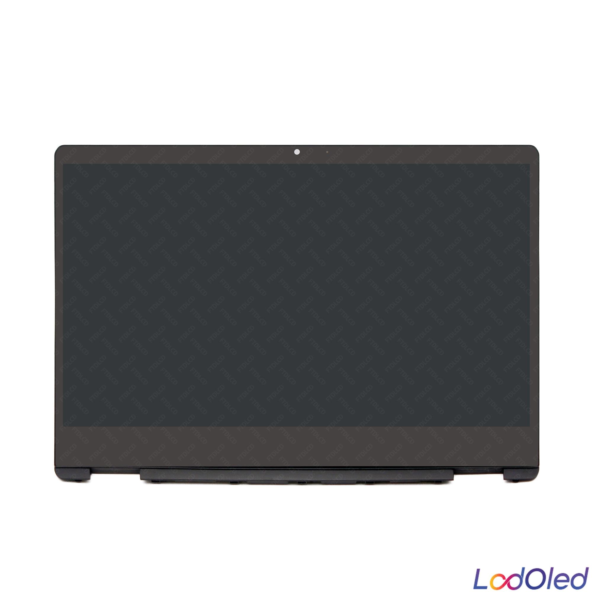 IPS LCD لمس الشاشة محول الأرقام زجاج الجمعية NV140FHM-N4K LP140WFA.SPD3 B140XTN07.2 ل HP جناح x360 14 dh سلسلة