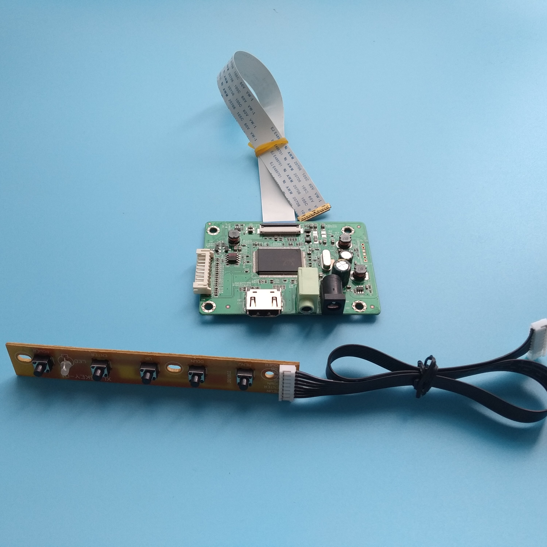 "Para NT156WHM-N22 EDP mini LCD monitor LED controlador de disco 1366X768 HDMI 15,6 ""cable kit de panel para ordenador portátil"