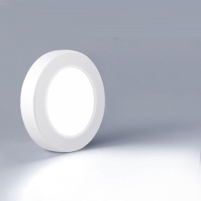 Поверхностного монтажа ультра-тонкий пятно светильник круглый потолочный светильник светодиодный настенный вниз светильник потолочный в...