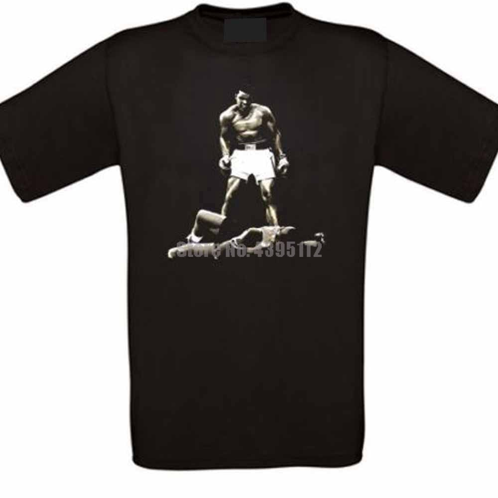 Ali Boxes Black Power Great Homme camiseta divertida Hip Hop Ropa Camisetas Gym King camiseta marca camisetas de talla grande para hombres