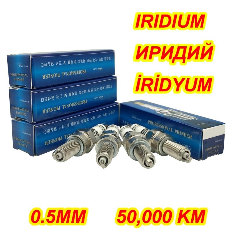 2 шт. иридиевая Свеча зажигания EAIX-CPR8-9 для CPR7EA-9 CPR8EA-9 CR8E 90607 IU24 IU22 U24EPR9 U24ESR SMAX155 PCX150 CBF150