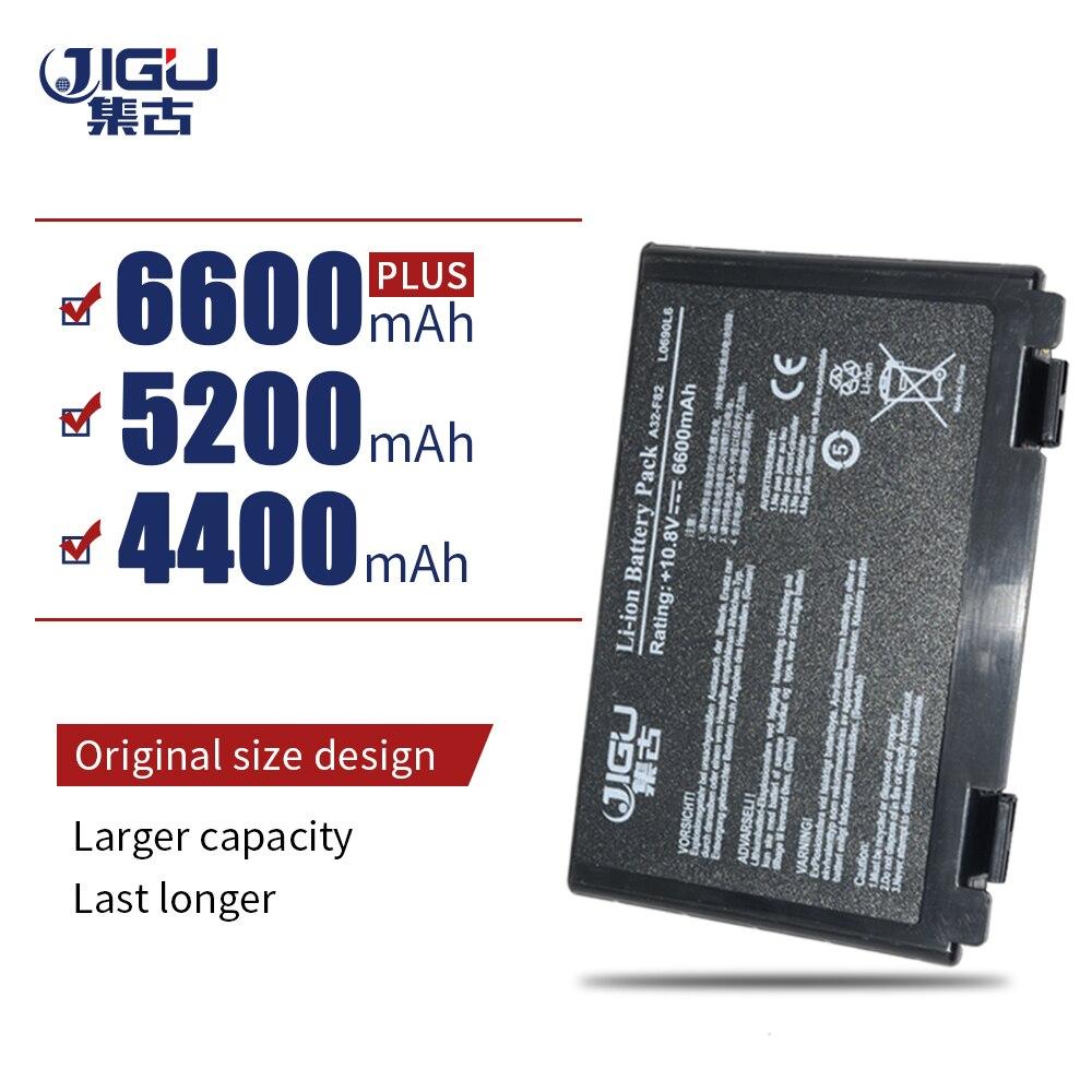 JIGU batería de portátil para ASUS F52 F82 K51 A32-F52 A32-F82 PRO65...