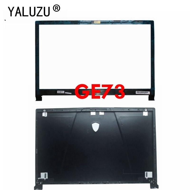 Yaluzu novo para msi ge73 ge73vr 7rf-006cn portátil lcd capa traseira caso superior tampa traseira habitação gabinete preto 3077c1a213hg017