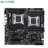 HUANANZHI X79 16D X79 Motherboard Intel Dual CPU LGA 2011 REG ECC DDR3 1333 1600 1866MHz SATA3 USB3.0 E-ATX witht VGA