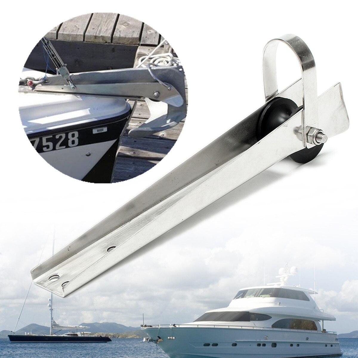 388mm ancla de servicio pesado de acero inoxidable ancla de barco de rodillos de proa para Marina anclas de barco