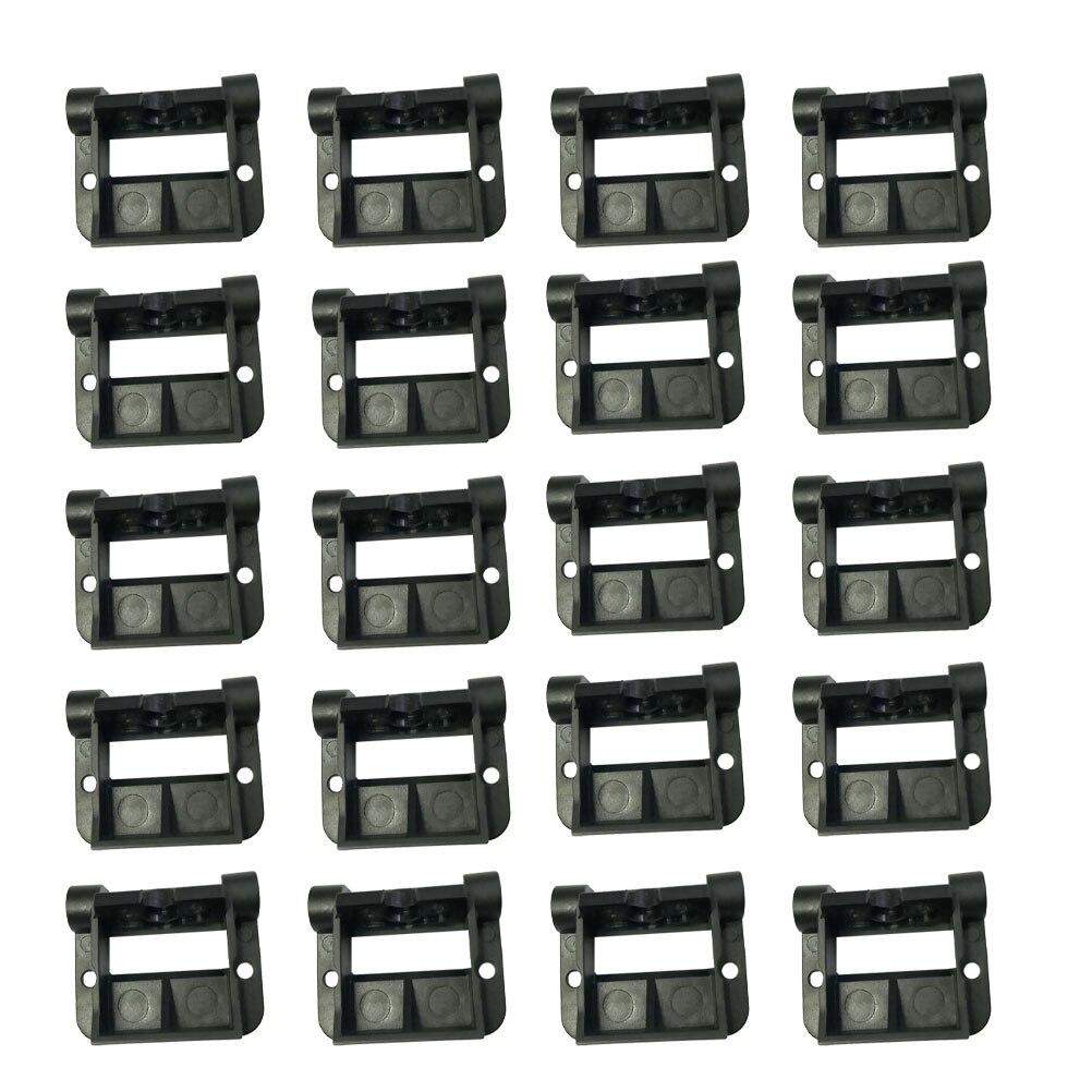 20 piezas CÁMARA DE COCHE estante Universal de respaldo cámara de coche estante Monitor grabadora Sonda de visión trasera ajustable estante de la cámara del coche