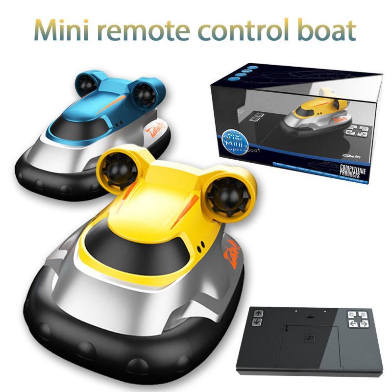 Mini Radio Racing RC Submarine Toy Underwater Submarine Bath Toys Remote Control Boat In Bathtub Poo