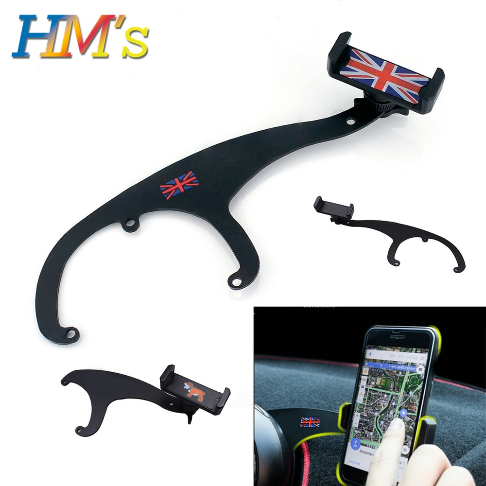 gift high quality car zinc alloy key holder cover bag case ring for bmw mini cooper one fun f54 f55 f56 r56 r57 r58 r59 r60 r61 For MINI Cooper R56 R57 R55 Countryman R60 R61 Phone Holder Car Accessories For Mini Cooper F56 F55 F60 Clubman F54 Bracket