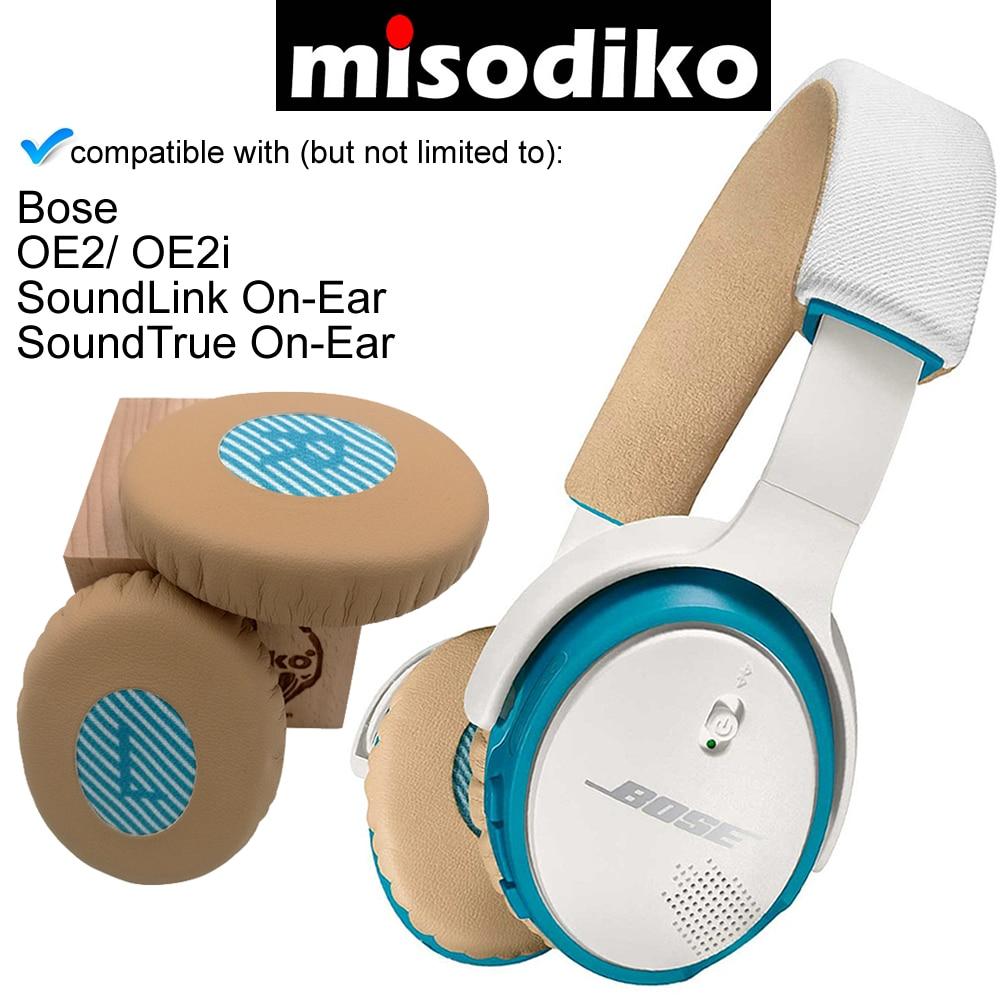 Misodiko Ersatz Ohr Pads Kissen Kit für Bose SoundLink/SoundTrue Auf-Ohr Stil OE2 OE2i Kopfhörer Reparatur Teile ohrpolster