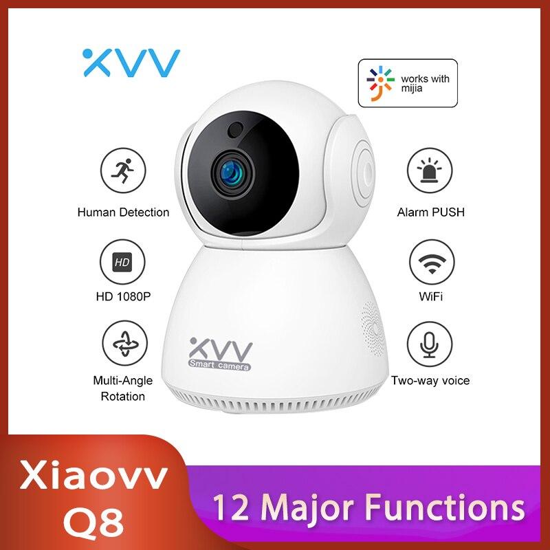 Xiaovv-cámara de seguridad Q8 para el hogar, Monitor de bebé con visión...