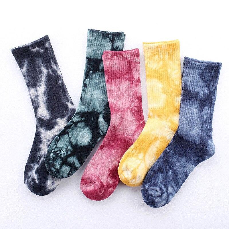 Новинка, хлопковые носки, махровые носки, утепленные мужские и женские спортивные носки с краской, оптовая продажа, индивидуальные носки