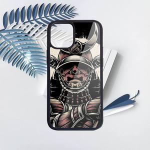 Image 5 - Японская Маска самурая oni чехол для телефона ПК для iPhone 11 12 pro XS MAX 8 7 6 6S Plus X 5S SE 2020 XR