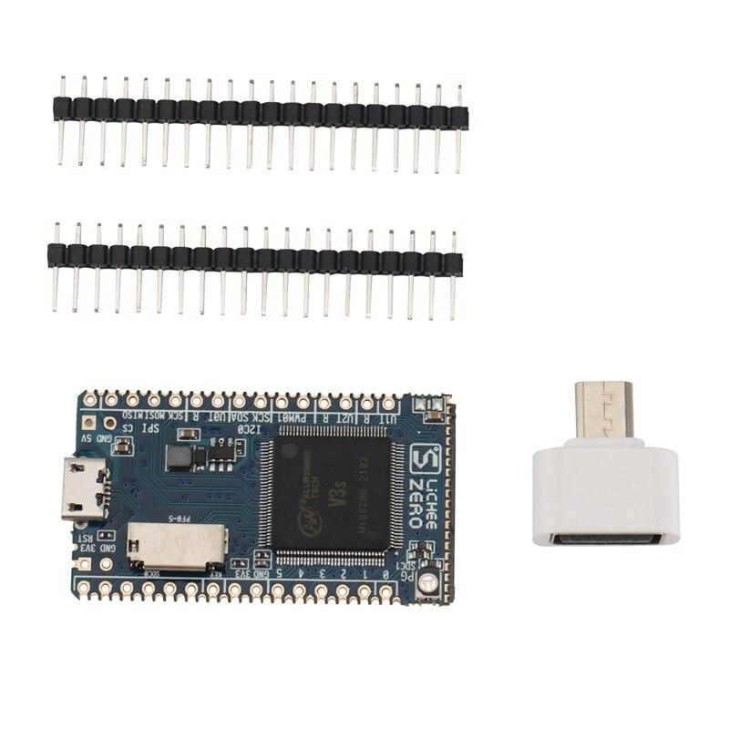 Sipeed Lichee Pi صفر 1.2GHz Cortex-A7 512Mbit DDR Allwinner V3S الأساسية مجلس التنمية كمبيوتر مصغر