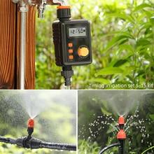 Garten Wasser Control Timing Irrigator Automatische Bewässerung Gerät Zerstäubung/Drip Bewässerung Bewässerung System Kit 5-15 Set