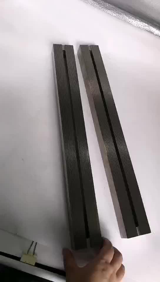 Heat sealing film jaws and shaft seal bag enlarge