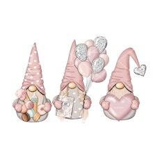 الآيس كريم الكعك بالون الحب هدية سانتا المعادن قطع يموت عيد الحب Stencil DIY بها بنفسك سكرابوكينغ الحرفية الزخرفية