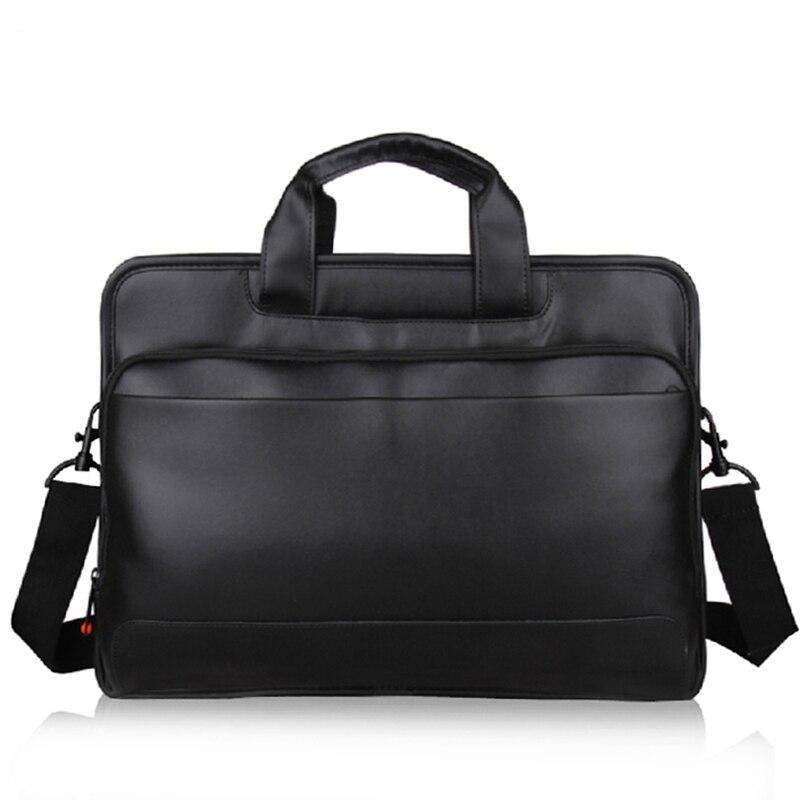 For Lenovo Thinkpad TL410 Hand-held Shoulder Notebook Computer Bag 15.6 Inch Original Genuine Supre Capacity Toploader Leather