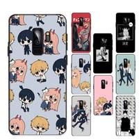 anime chainsaw man phone case for samsung galaxy s20lite s21 s21ultra s20 s20plus for samsungs21plus 20ultra capa