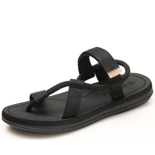 New summer sandals men tide couple beach shoes lightweight men's Vietnamese slippers trade Simple sa