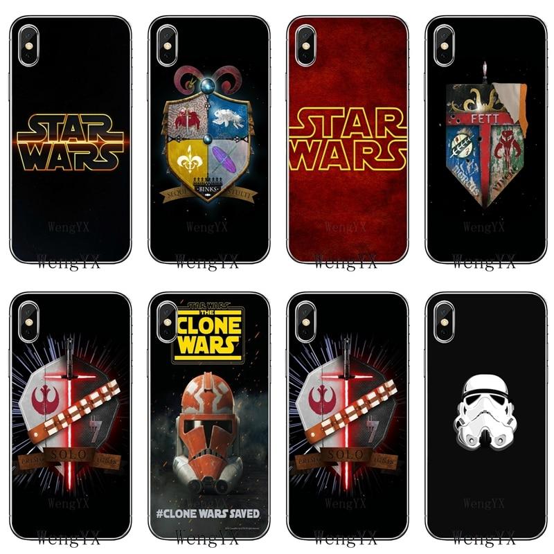 Star Wars familia Crest Fett funda de teléfono suave para Huawei Honor 10 9 Lite 8C 8X 7C 7X 7A 6C pro Play 6X 6A 5A 5C 5X V10