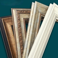 Роскошная элегантная рамка, Античная европейская галерея, винтажная рамка, картина, художественные подарки для парня, Декор для дома DK50FE