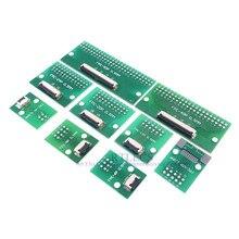 20pcs FPC FFC 케이블 0.5mm 피치 4 6 8 10 12 14 16 20 24 30 40 50 60 핀 SMT 어댑터 2.54mm 스루 홀 DIP PCB