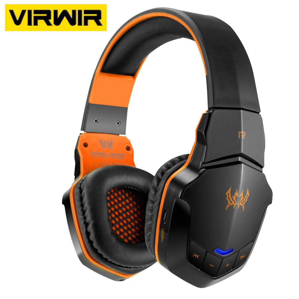 Wireless Bluetooth Gaming Headphone Bass Earphone With Mic Button Control 3.5mm AUX Audio Helmet Gamer Headset For Phone Laptop