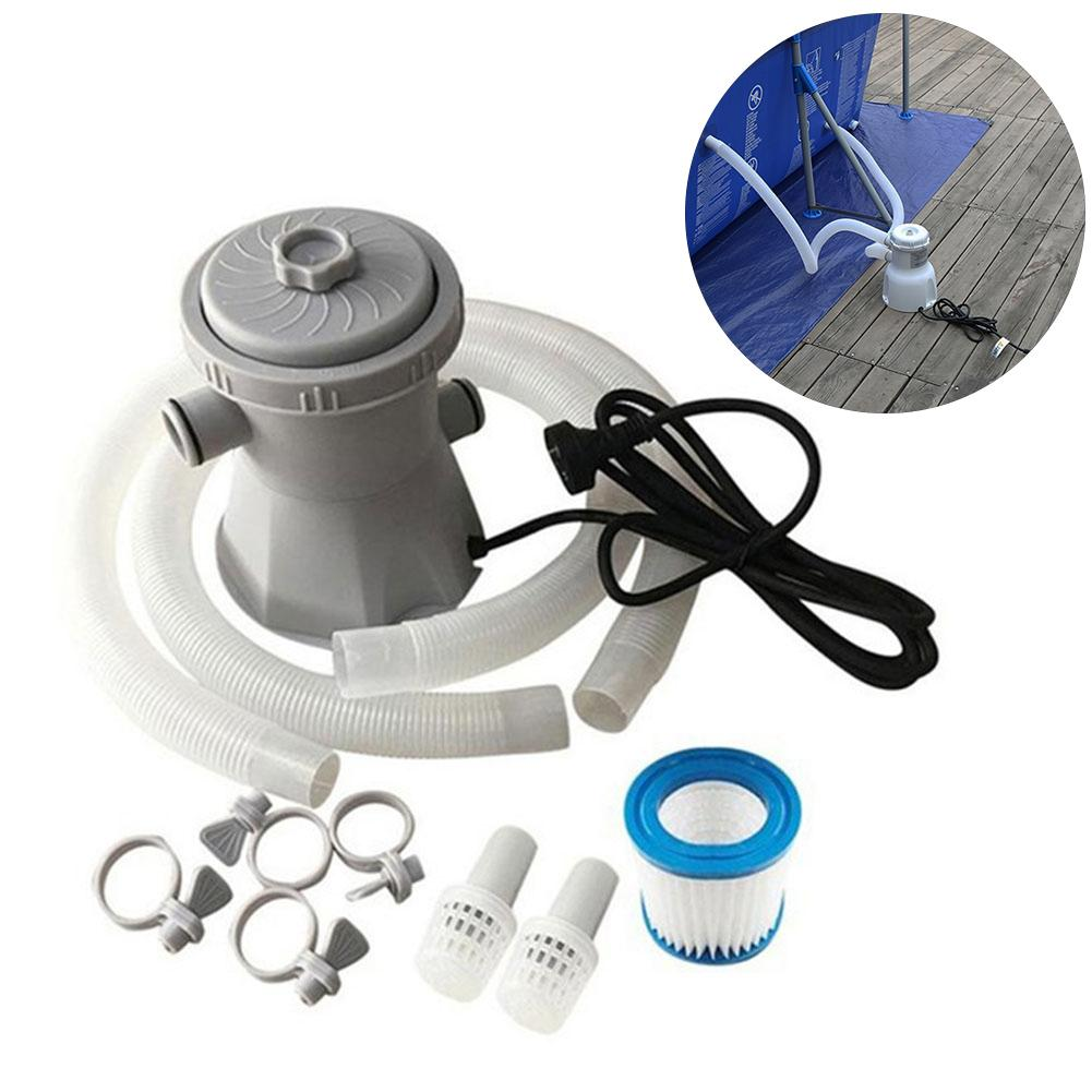 Inflatable Electric Pool Filter Pump, 300 Gallon Filter, Efficient Cleaning Tool, Cleaning Tool