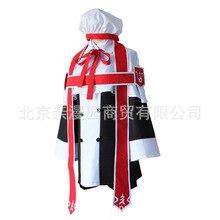 Anime noir majordome kuroshisuji Ciel fantôme Cosplay Costume ensemble complet église choeur uniforme robe formelle Ciel église tenue