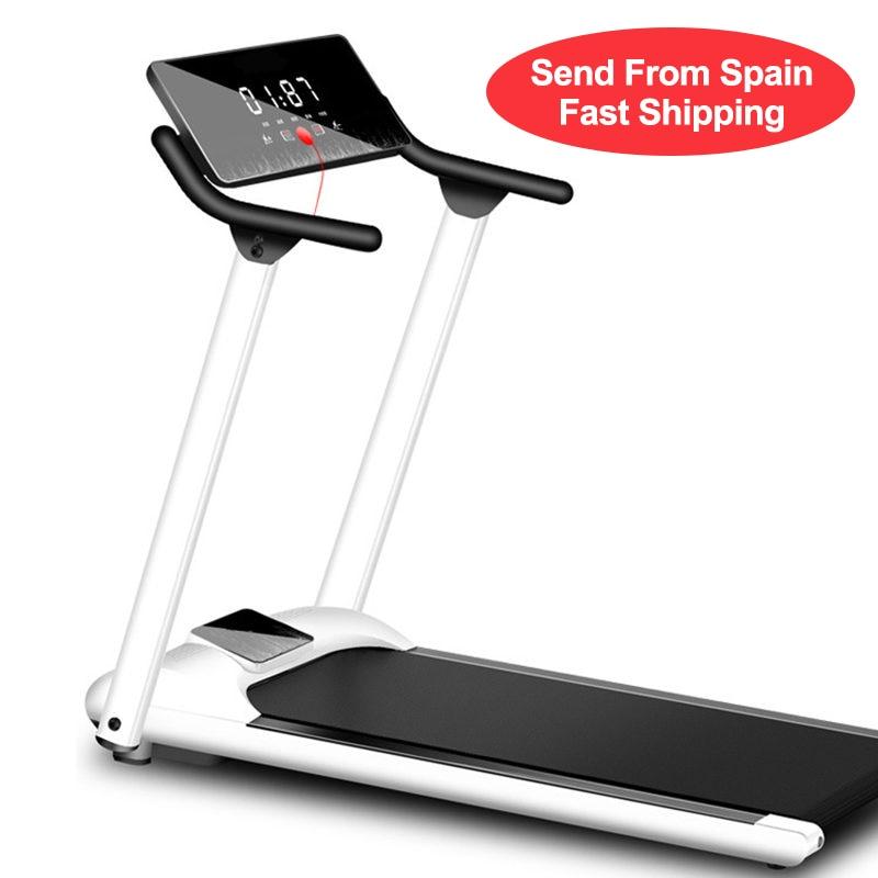 Multifunctional Foldable Mini Fitness Home Treadmill Indoor Exercise Equipment Gym Folding House Fitness Running Treadmills