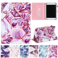 10 inch tablet universal cover for lenovo asus huawei samsung 9 7 10 1 10 2 10 5 10 7 10 8 inch marble leather stand cover cases